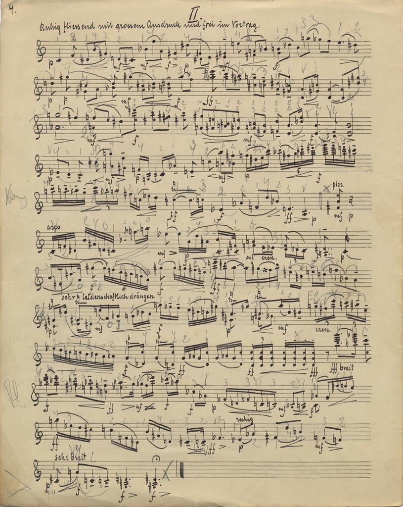 Bohnke, Emil. Sonata for Violin, Op. 15, No. 1