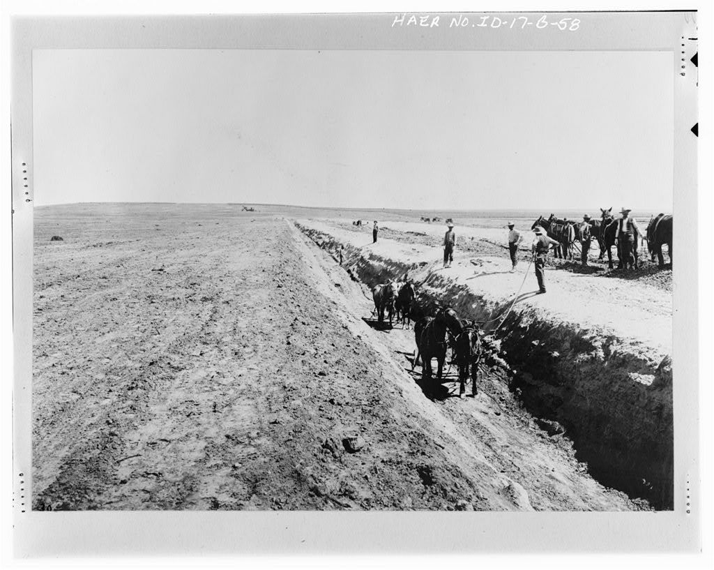 Boise Project, Deer Flat Embankments, Lake Lowell, Nampa, Canyon County, ID