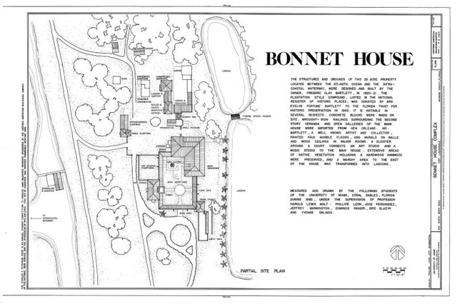 Bonnet House, 900 North Birch Road, Fort Lauderdale, Broward County, FL