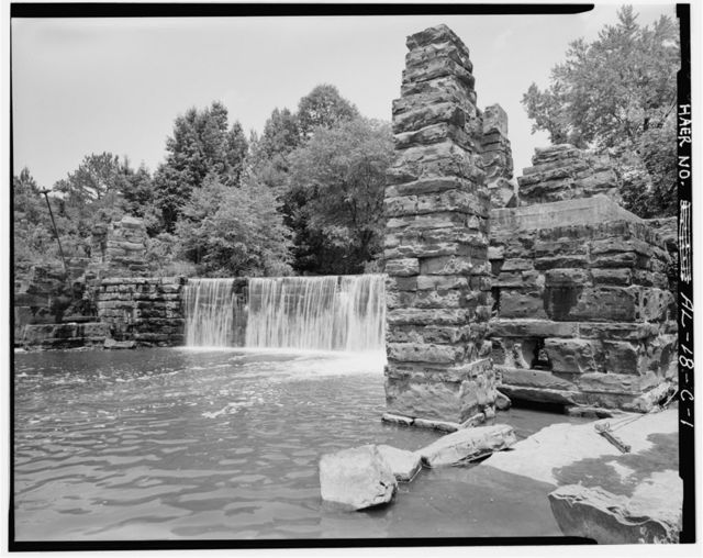 Boshell's Mill, Grist Mill, Bank of Lost Creek at State Route 124, South of U.S. 78, Townley, Walker County, AL