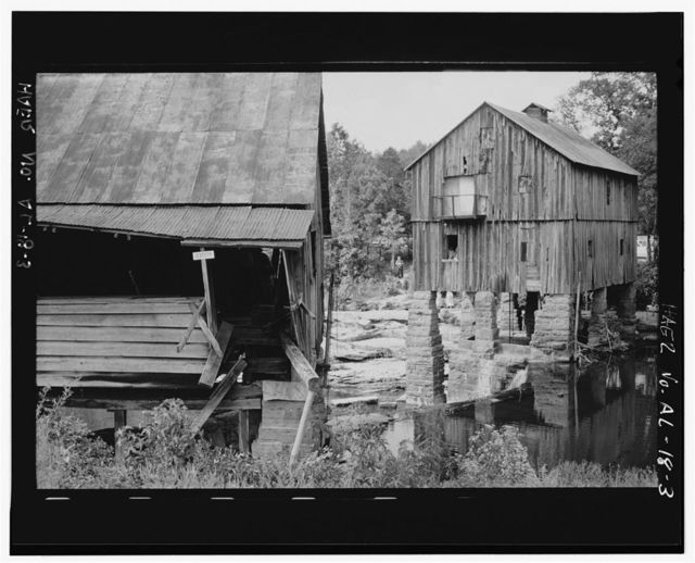 Boshell's Mill, Lost Creek at Alabama Route 124, 1.7 miles South of Route 78, Townley, Walker County, AL