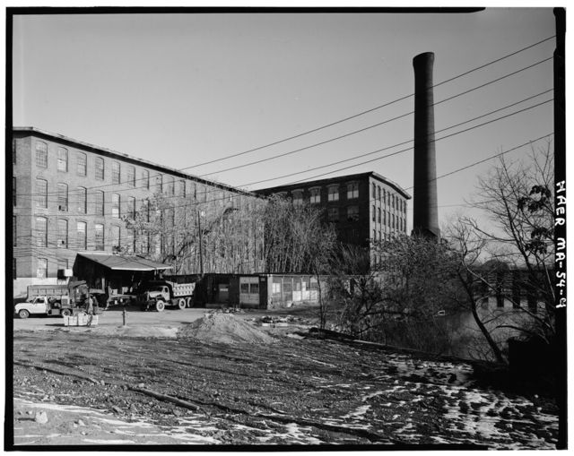 Boston Manufacturing Company, 144-190 Moody Street, Waltham, Middlesex County, MA