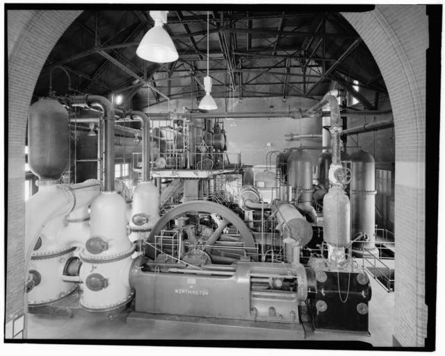 Boston Water Works, Worthington Pump, 2450 Beacon Street, Boston, Suffolk County, MA