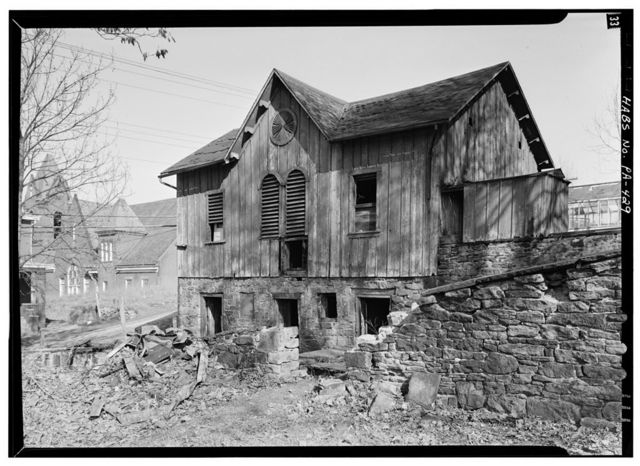 Bowman's Castle, Barn, Front & Second Streets, Brownsville, Fayette County, PA