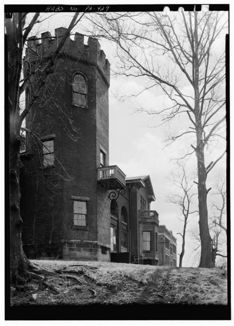 Bowman's Castle, Front & Second Streets, Brownsville, Fayette County, PA