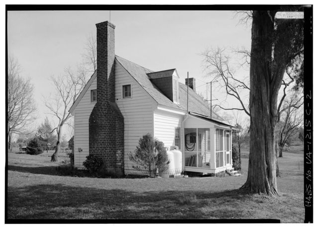 Bracketts Farm, Guest House, Routes 638 & 640 vicinity, Trevilians, Louisa County, VA