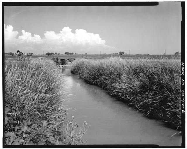 Brantner Ditch, South Platte River, Brighton, Adams County, CO