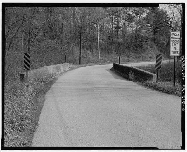 Brevard Bridge, Spanning Westland Run at Ullom Road, Export, Washington County, PA
