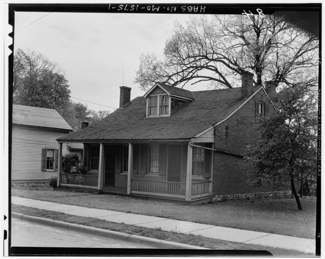 Brick House, Highway Route 40, Saint Charles, St. Charles County, MO