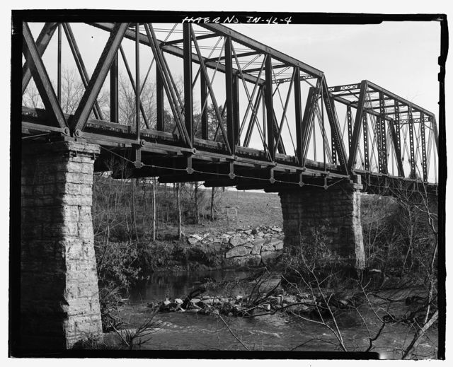 Bridge No. 33.3, Spanning Elk River at Milepost JC-33.3, Fayetteville, Lincoln County, TN