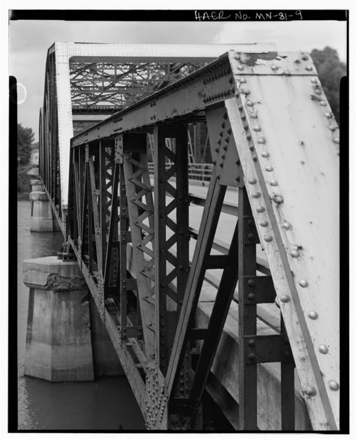 Bridge No. 4800, Spanning Minnesota River on Trunk Highway 4 between Brown & Nicollet Counties, Sleepy Eye, Brown County, MN
