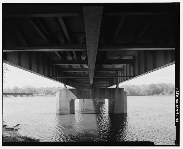 Bridge No. 5930, Spanning Mississippi River at Trunk Highway 43, Winona, Winona County, MN