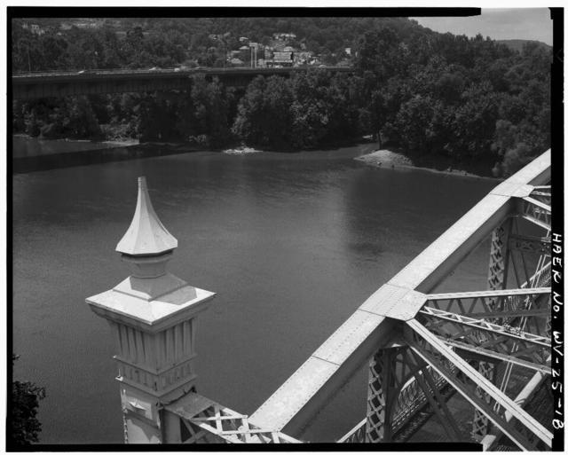Bridgeport Bridge, Spanning West Channel of Ohio River, U.S. Route 40, Wheeling, Ohio County, WV