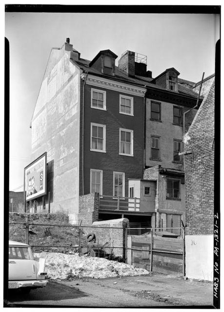 Bridges-LaTour House, 509 South Front Street, Philadelphia, Philadelphia County, PA