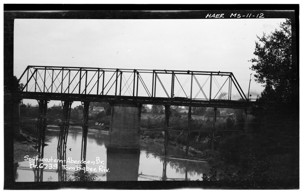 Bridges of the Upper Tombigbee River Valley, Columbus, Lowndes County, MS