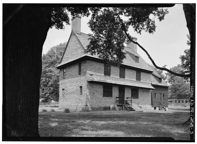 Brinton 1704 House, Oakland Road (Birmingham Township), Dilworthtown, Chester County, PA
