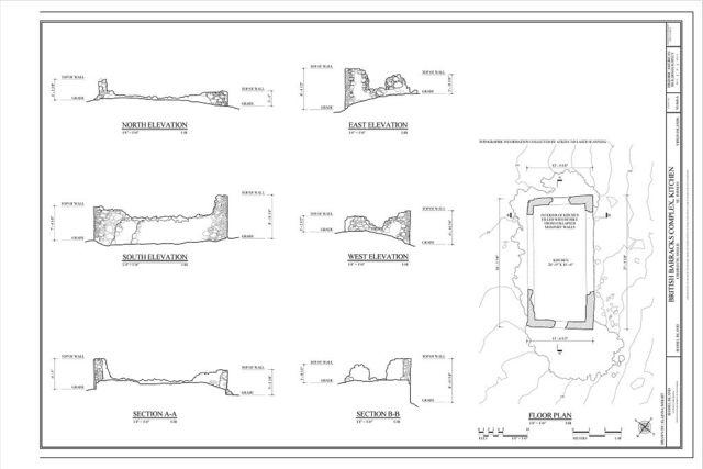 British Barracks Complex, Kitchen, Charlotte Amalie, St. Thomas, VI