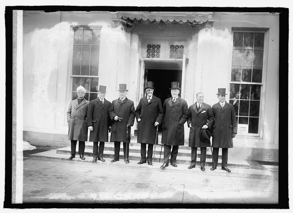 British Delegation at White House, 2/4/22