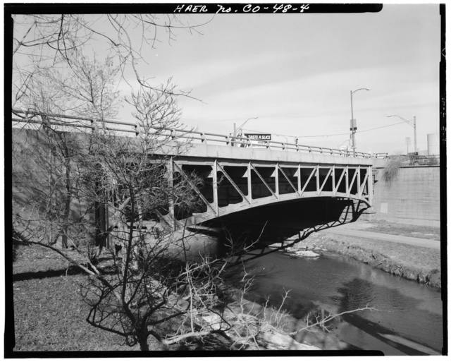 Broadway Bridge, Spanning Cherry Creek on Broadway at Speer Boulveard, Denver, Denver County, CO