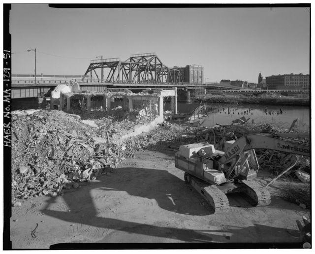 Broadway Bridge, Spanning Foundry Street, MBTA Yard, Fort Point Channel, & Lehigh Street, Boston, Suffolk County, MA