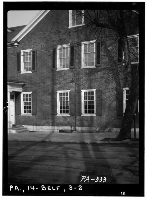 Brockerhoff House, Bishop & Springs Streets, Bellefonte, Centre County, PA