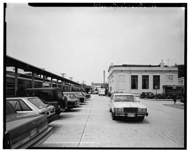 Bronxville Railroad Station, Parkway Road at Pondfield Road, Bronxville, Westchester County, NY