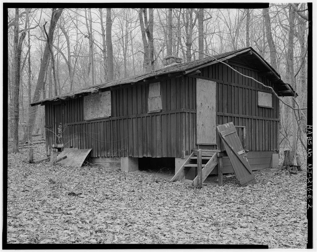 Brookrace Estate, Dan Beard Storage Cabin, Located 0.3 mile north of Pleasant Valley Road & 0.8 mile east of Union School House Road, Morristown, Morris County, NJ