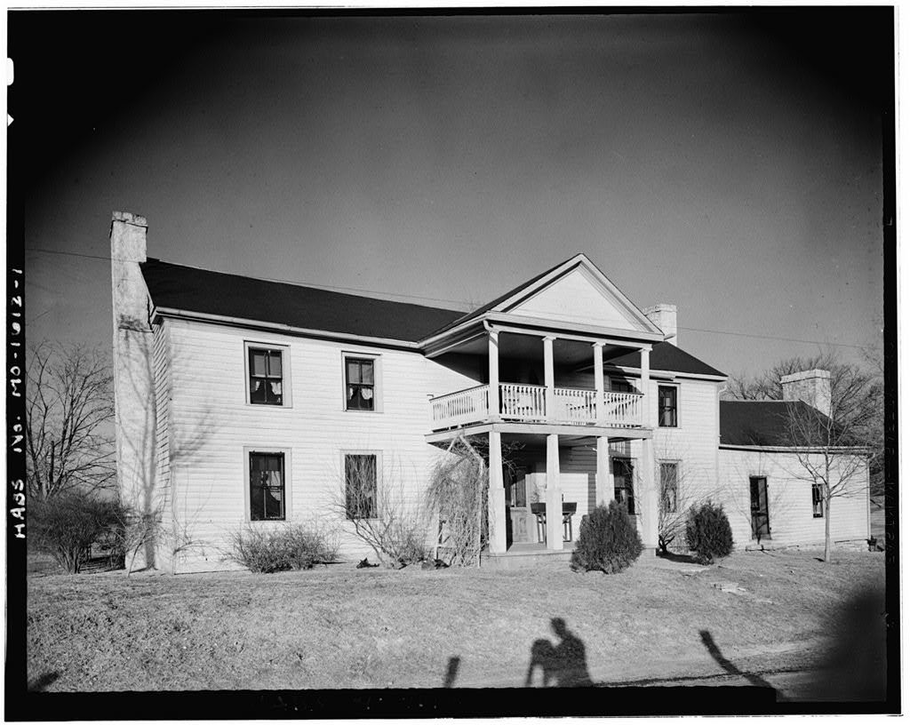 Brooks House, State Route 25, Bloomsdale, Ste. Genevieve County, MO