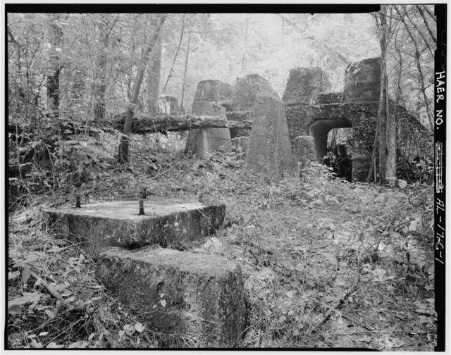 Brookside Coal Mine, Tipple (Foundation), Mount Olive Road, North of Five Mile Creek Bridge, Brookside, Jefferson County, AL