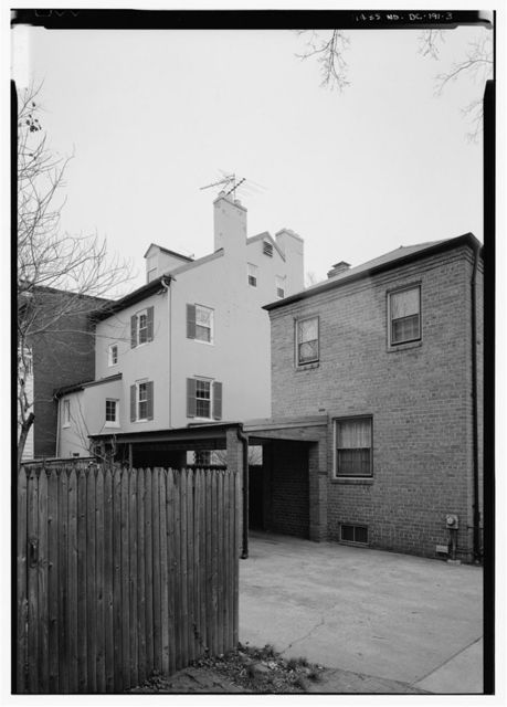 Brown House, 1404 Thirty-fifth Street Northwest, Washington, District of Columbia, DC