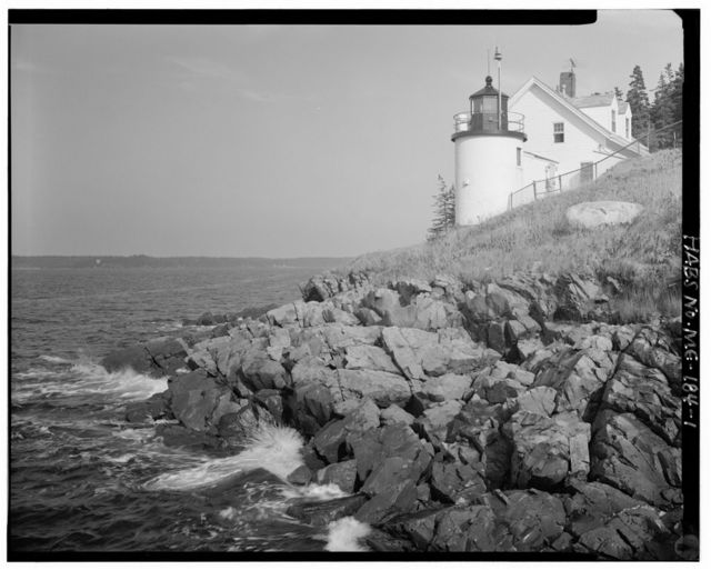 Brown's Head Light Station, Northwest point of Vinalhaven Island, off Crockett River Road, Vinalhaven, Knox County, ME
