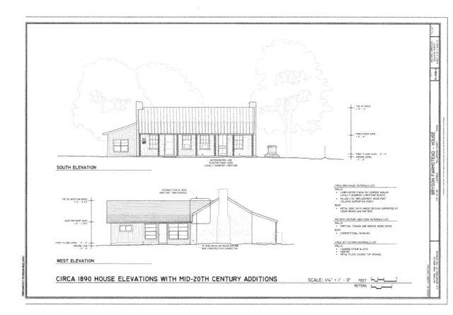 Bryson Farmstead, House, 4181 US Highway 183, Leander, Williamson County, TX