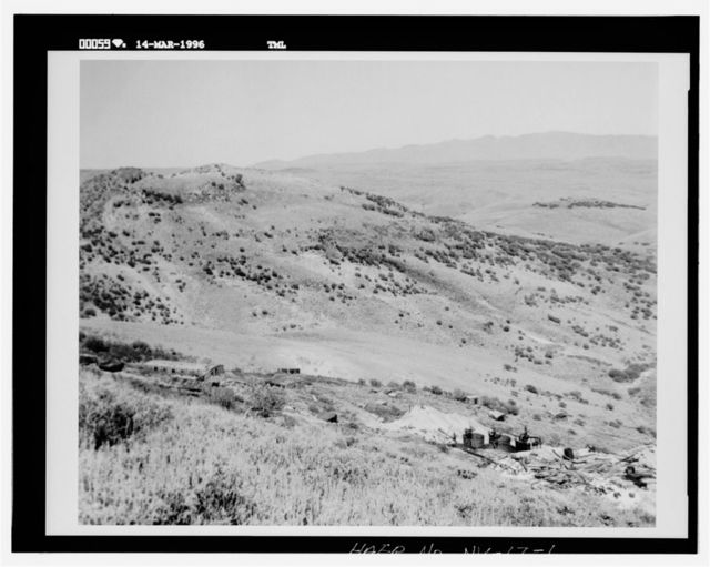 Buckskin National Mine Site, East slope of Buckskin Mountain, Paradise Valley, Humboldt County, NV