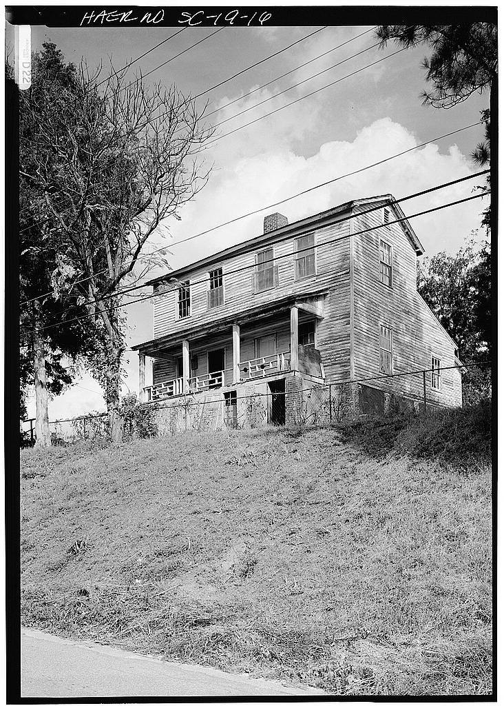 Buffalo Cotton Textile Mill, Worker's House, S.C. Route 215, Buffalo, Union County, SC