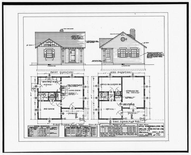 Buffalo Guard Station, Residence, U.S. Highway 20/191 at Buffalo River, Island Park, Fremont County, ID