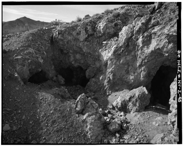 Bullfrog Mine, Rhyolite, Nye County, NV