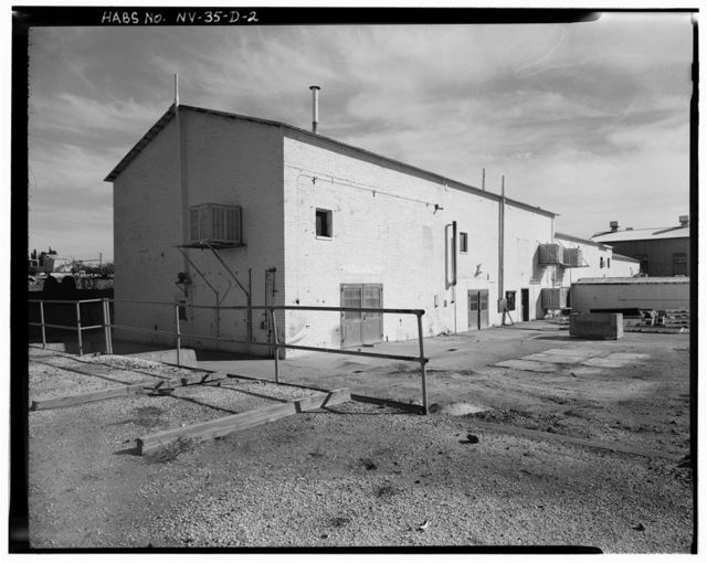 Bureau of Mines Boulder City Experimental Station, Titanium Research Building, Date Street north of U.S. Highway 93, Boulder City, Clark County, NV