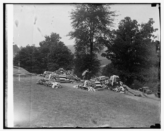 Burial of Lts. Hancock, Laurence, & Sheppard, 9/8/25