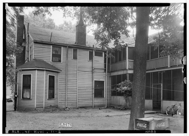 Burritt House, 303 Eustis Avenue, Huntsville, Madison County, AL