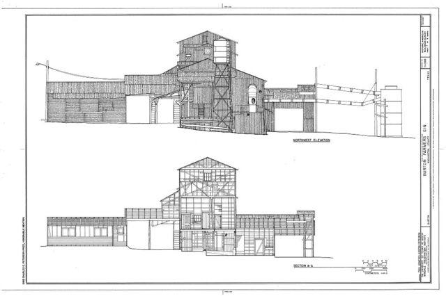Burton Farmer's Gin, Main Street, Burton, Washington County, TX