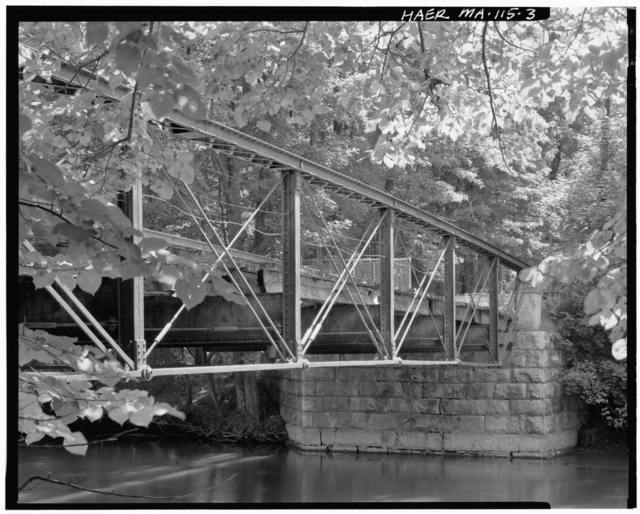 Butler Bridge, Spans Housatonic River on Butler Road (North Glendale Road), Stockbridge, Berkshire County, MA