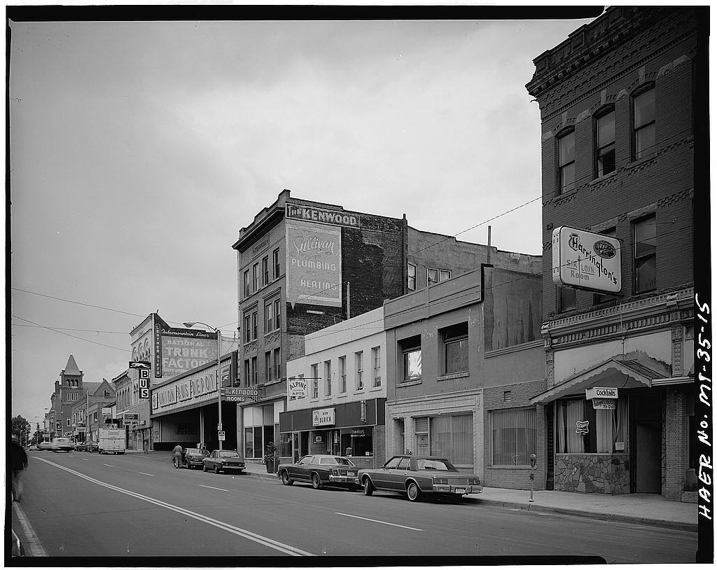 Butte Historic District, Bounded by Copper, Arizona, Mercury & Continental Streets, Butte, Silver Bow County, MT