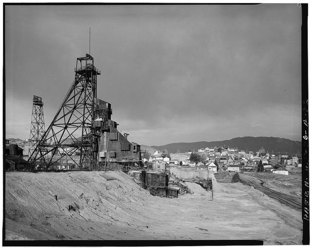 Butte Mineyards, Anselmo Mine, Butte, Silver Bow County, MT