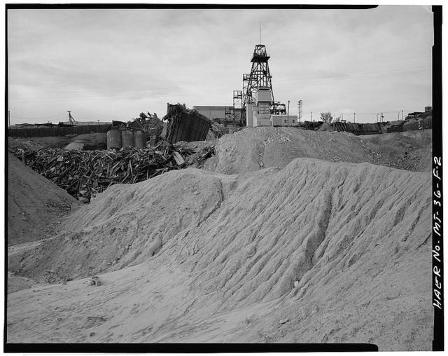 Butte Mineyards, Mountain Con Mine, Butte, Silver Bow County, MT