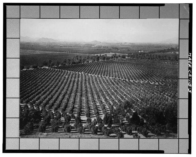 California Citrus Heritage Recording Project, Riverside, Riverside County, CA