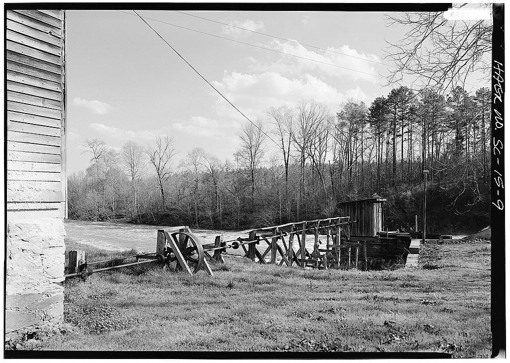 Calliham's Mill, SC Route 138 on Stevens Creek, 2 miles east of Parksville, Parksville, Mccormick County, SC