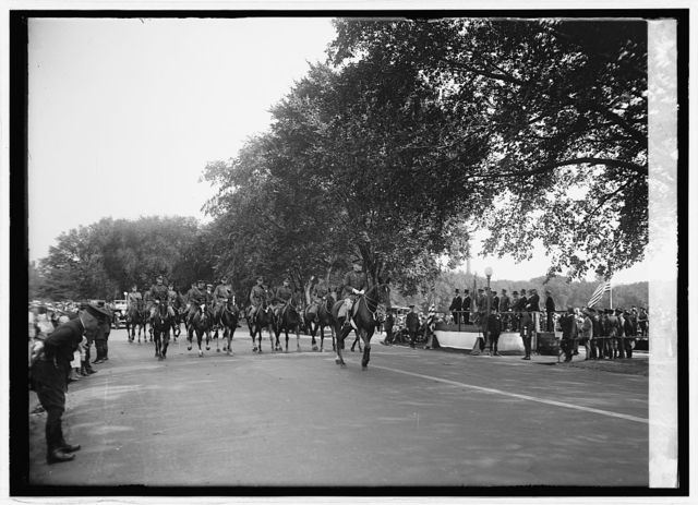 Calvary leads Defense Day parade, 9/12/24