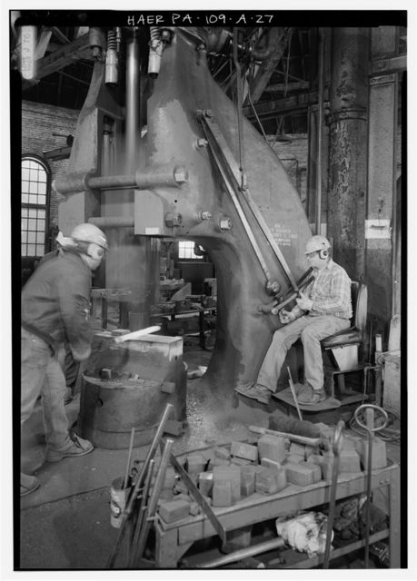 Cambria Iron Company, Blacksmith Shop, Lower Works, Johnstown, Cambria County, PA