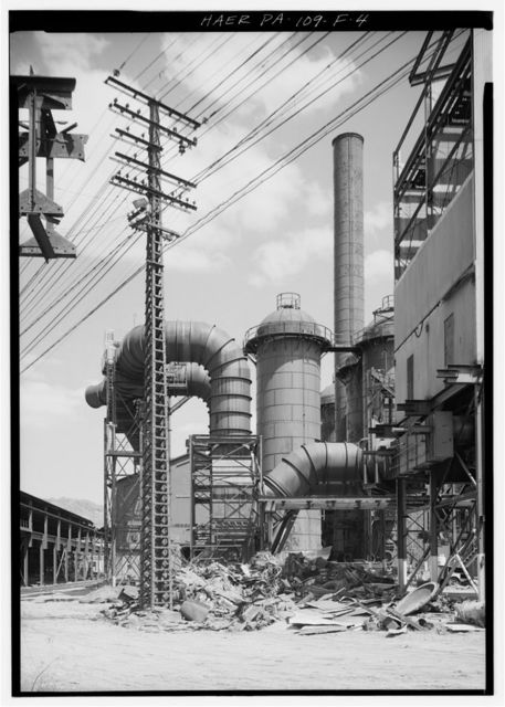 Cambria Iron Company, Blast Furnaces No. 5 & 6, Lower Works, Johnstown, Cambria County, PA