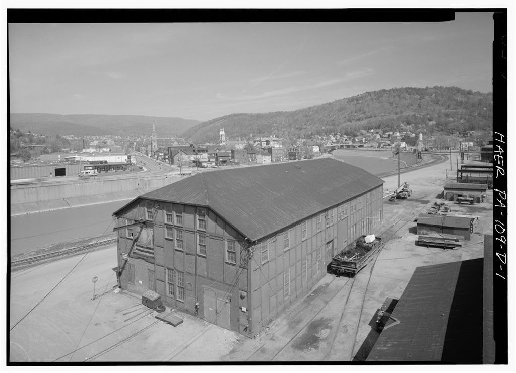 Cambria Iron Company, Car Shop, Lower Works, Johnstown, Cambria County, PA